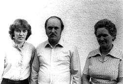 Marita, Friedhelm und Elli Hellwig